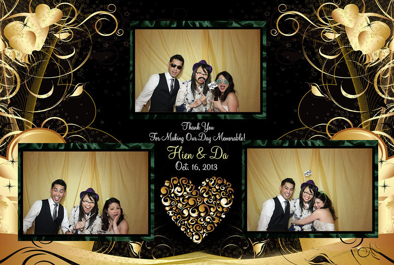 Hien and Da's Las Vegas Wedding Planner - Photo Booth Picture 1