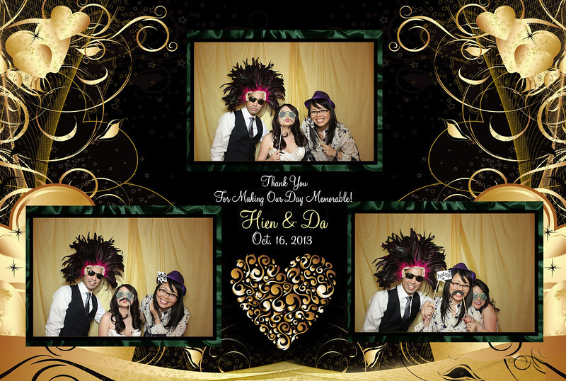 Hien and Da's Las Vegas Wedding Planner - Photo Booth Picture 2