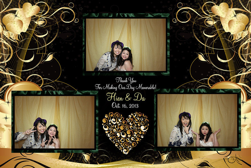 Hien and Da's Las Vegas Wedding Planner - Photo Booth Picture 3
