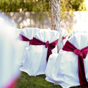 Eden and Tony Wedding Planner - Ceremony Chairs