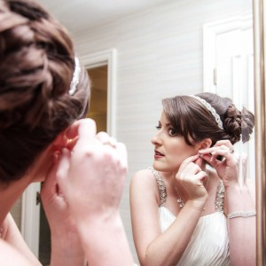 Erica and Travis Wedding Photography - Caesars Las Vegas - Getting Ready