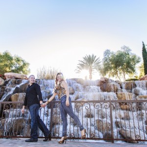 Ericka and Dana Engagement Session - Lake Las Vegas