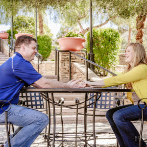 Jenn and Marty Engagement Session - Lake Las Vegas