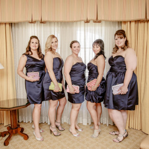 Jenn and Marty's Las Vegas Wedding Planner - The Bridesmaids