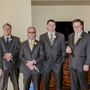 Jenn and Marty's Las Vegas Wedding Planner - The Groomsmen