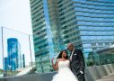 Crystal & JD's Vegas Wedding Coordinator - Couple Shot
